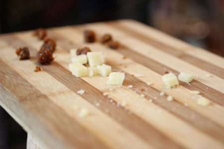 sheep cheese and smokvenjak