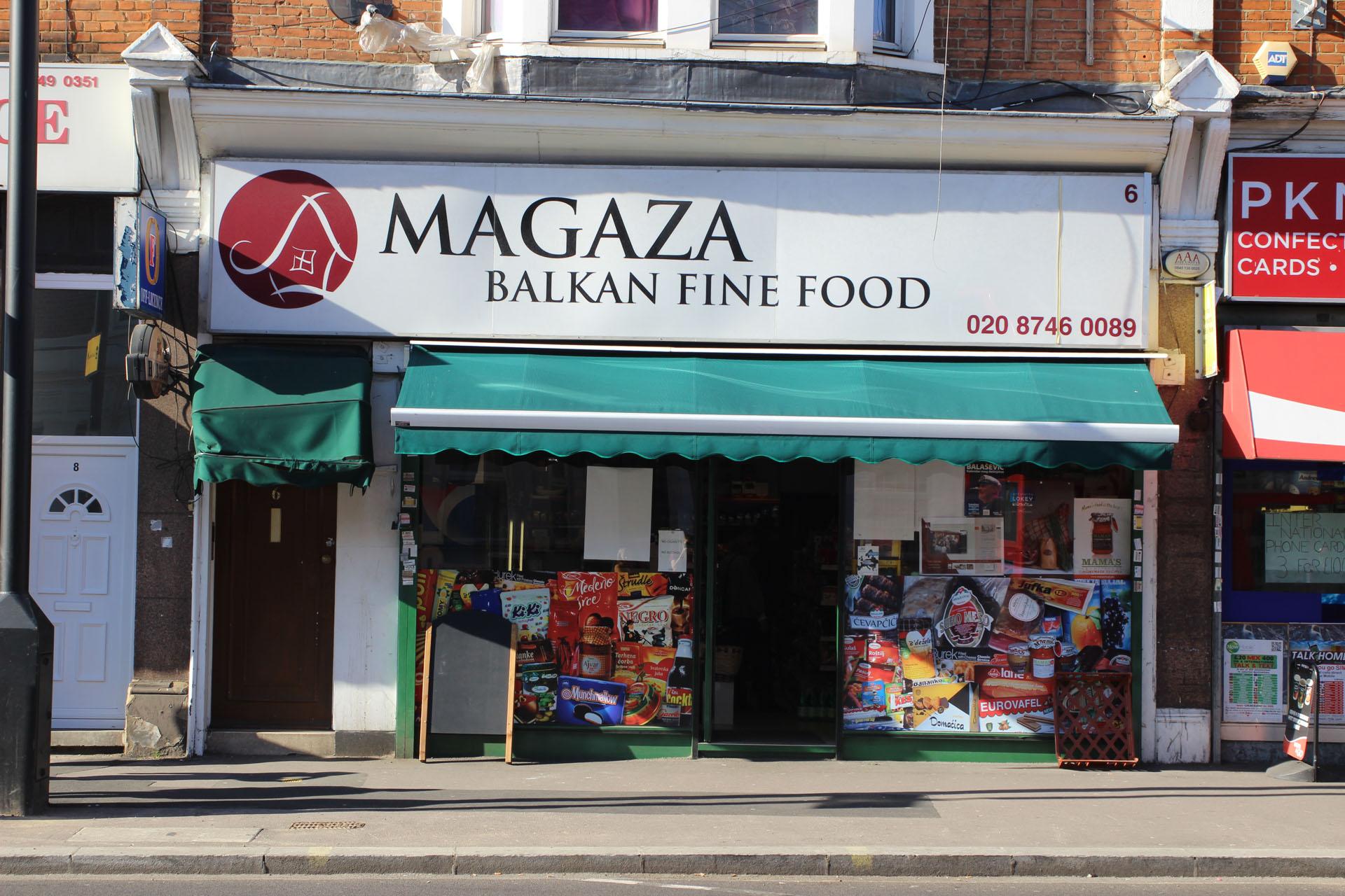 Balkan Restaurant London